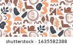 hand drawn modern illustration... | Shutterstock .eps vector #1635582388