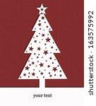 christmas tree | Shutterstock . vector #163575992