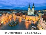 The Old Town Square At Night I...