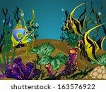 vector illustration with...   Shutterstock .eps vector #163576922