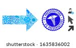 infection collage arrow icon...   Shutterstock .eps vector #1635836002