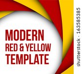 abstract colorful red and... | Shutterstock .eps vector #163585385