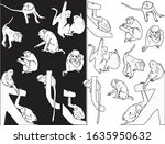 illustration with set of... | Shutterstock .eps vector #1635950632