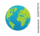 world icon for graphic design... | Shutterstock .eps vector #1635978775