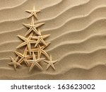 Christmass Tree From Shells On...