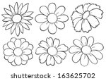Illustration Of The Flowers In...