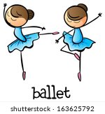 Illustration Of The Ballet...