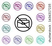 prohibition of work multi color ...