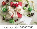 christmas goods | Shutterstock . vector #163632686