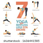 Infographic Of 7 Yoga Poses Fo...