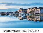 View Of The Town Of Manteo's...