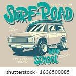 surf car off road vector car    Shutterstock .eps vector #1636500085