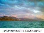 view of island samui from sea   Shutterstock . vector #1636543042