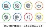 modern simple set of smart... | Shutterstock .eps vector #1636561735