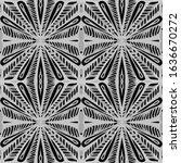 sweet ethnic swatch ceramic....   Shutterstock . vector #1636670272