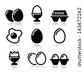 Egg  Fried Egg  Egg Box Icons...