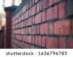 Brick wall in Jeffersonville Indiana.