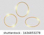 gold shiny glowing vintage...   Shutterstock .eps vector #1636853278
