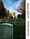 Headstones At The Antietam...