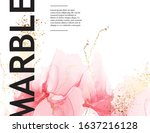 Pink Marble Template  Abstract...