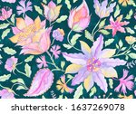 Paisley Watercolor Floral...
