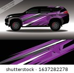 car wrap decal design vector ... | Shutterstock .eps vector #1637282278