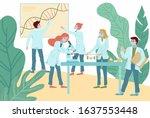 coronavirus antivirus medical... | Shutterstock .eps vector #1637553448