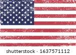 grunge flag of usa.vector...   Shutterstock .eps vector #1637571112