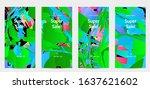 abstract social media template... | Shutterstock .eps vector #1637621602