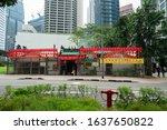 Singapore. January 2020.   An...