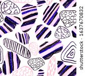 creative seamless pattern with...   Shutterstock . vector #1637670832
