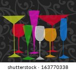 Assorted Stylized Glasses For...