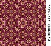 colorful geometric pattern... | Shutterstock . vector #163776692