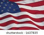 american flag | Shutterstock . vector #1637835