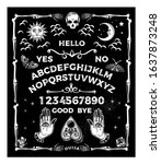 Ouija Board. Occultism Set....