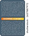 e commerce and shopping vector...   Shutterstock .eps vector #1637887972