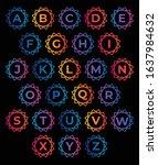 letter logo design for business | Shutterstock .eps vector #1637984632