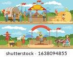 farm local market collection ...   Shutterstock .eps vector #1638094855