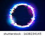 vector illustration glitch... | Shutterstock .eps vector #1638234145