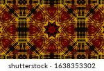 geometric kaleidoscope...   Shutterstock . vector #1638353302