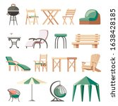 Collection Of Outdoor Furniture ...