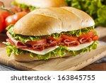Homemade Italian Sub Sandwich...