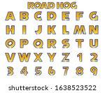 Road Hog Alphabet    3d...