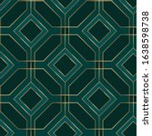 geometric seamless pattern with ...   Shutterstock .eps vector #1638598738
