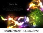 light effect background | Shutterstock .eps vector #163860692