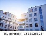 Sun Rays Light Effects On Urban ...