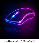 Stylish Neon Computer Mouse...