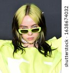 Small photo of LOS ANGELES - JAN 23: Billie Eilish arrives for the Spotify Best New Artist 2020 Party on January 23, 2020 in Los Angeles, CA