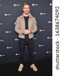 Small photo of LOS ANGELES - JAN 23: Derek Hough arrives for the Spotify Best New Artist 2020 Party on January 23, 2020 in Los Angeles, CA