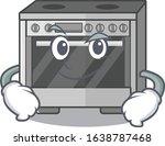 cool kitchen stove mascot... | Shutterstock .eps vector #1638787468